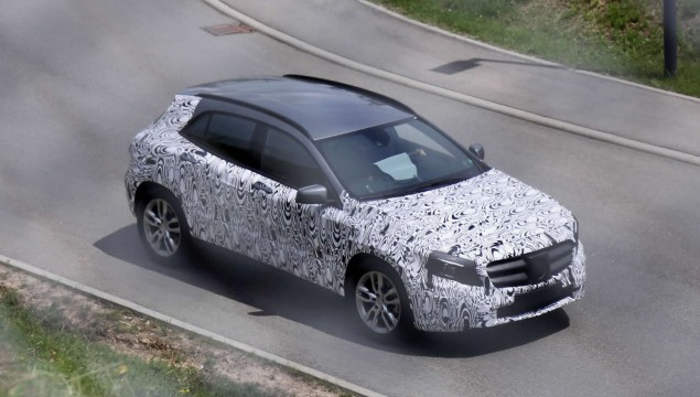 Mercedes GLA Photos Reveal Even More Detail