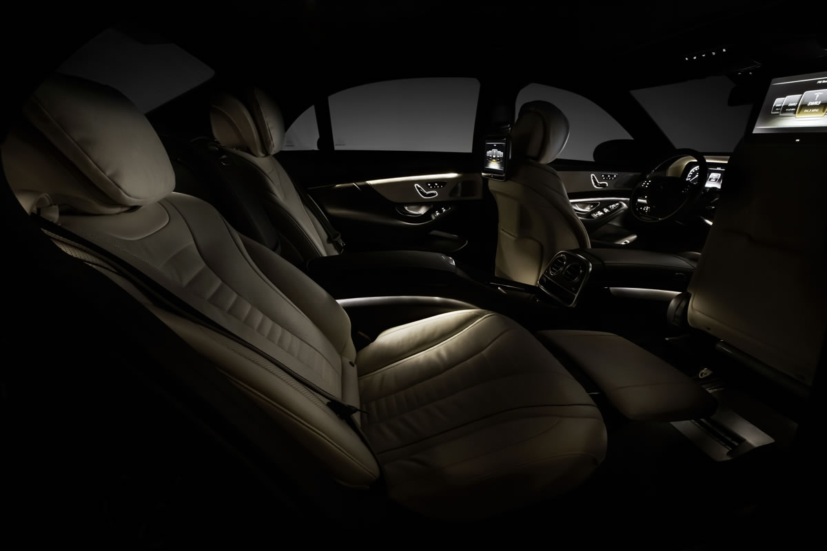 2014 Mercedes-Benz S-Class Seating 10