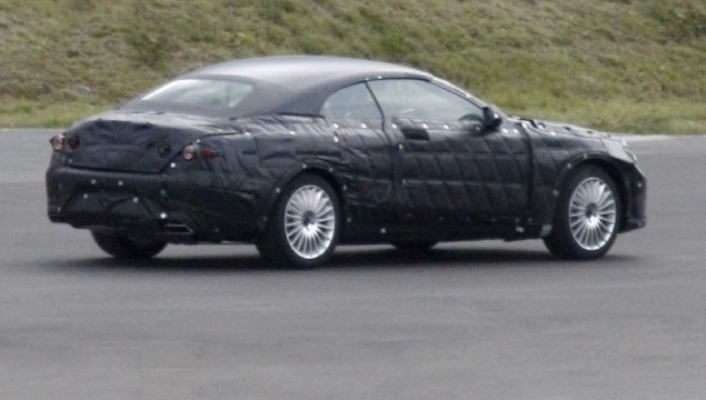 2014 mercedes-benz s-class convertible spy photos