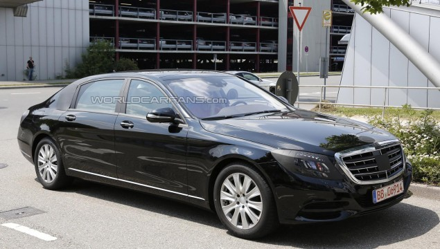 2014 Mercedes-Benz S-Class Pullman Spy Photo