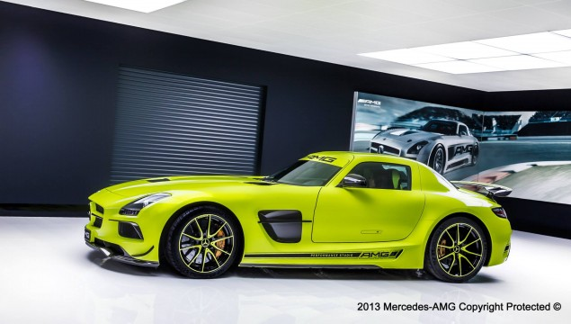 Mercedes AMG Rings in 2014 with an SLS AMG Coupe Black Series