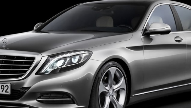 2014 Mercedes-Benz S-Class First Photos Undisguised