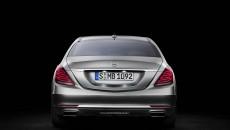 2014 Mercedes S-Class rear
