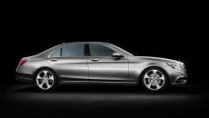 2014 Mercedes S-Class side exterior