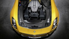 2014 Mercedes SLS AMG Coupe Black Series engine