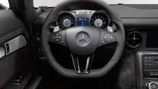2014 Mercedes SLS AMG Coupe Black Series steering wheel