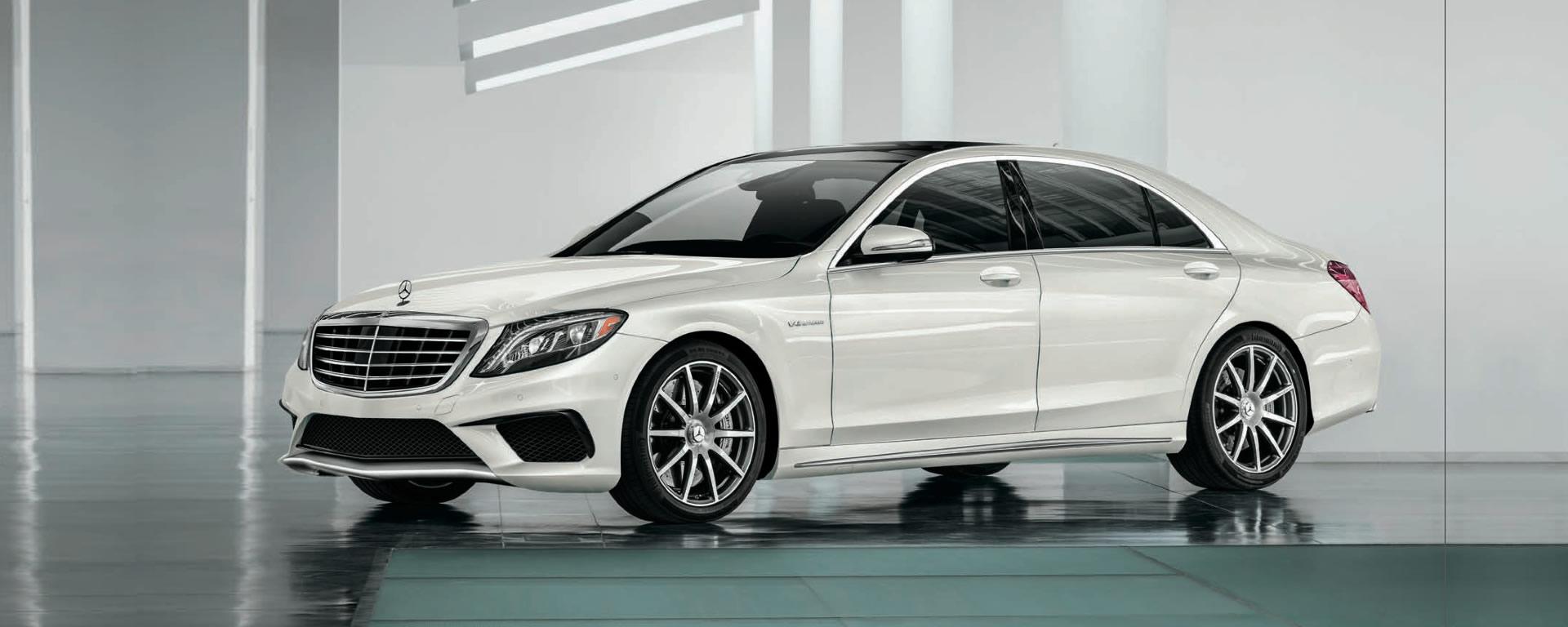 2014 Mercedes-Benz White S-Class
