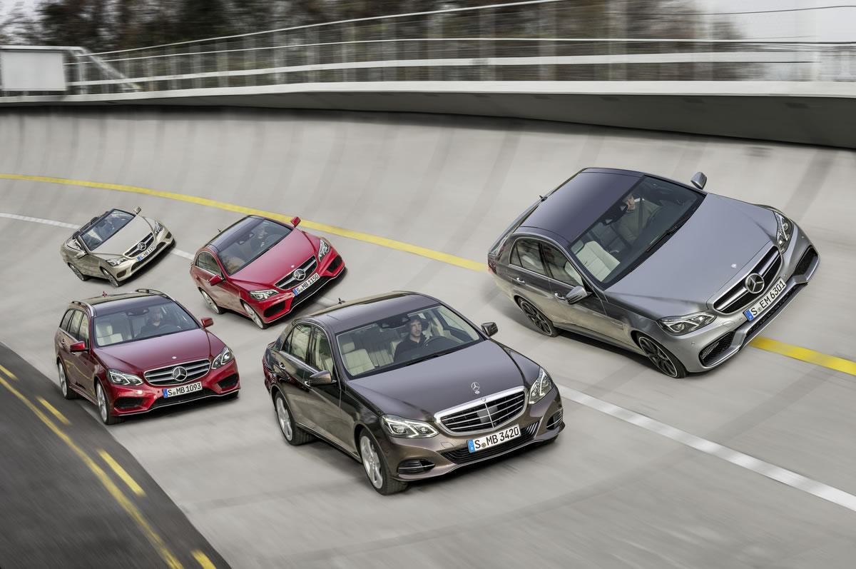 2014 Mercedes-Benz E-Class Family