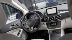 Mercedes-Benz B-Class Electric Drive interior