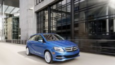 Mercedes-Benz B-Class Electric Drive front grille