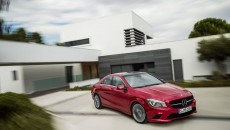 2014 Mercedes-Benz CLA 250 four-door coupe
