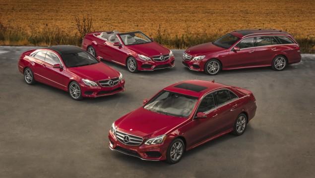 2014 Mercedes-Benz E-Class Models Red