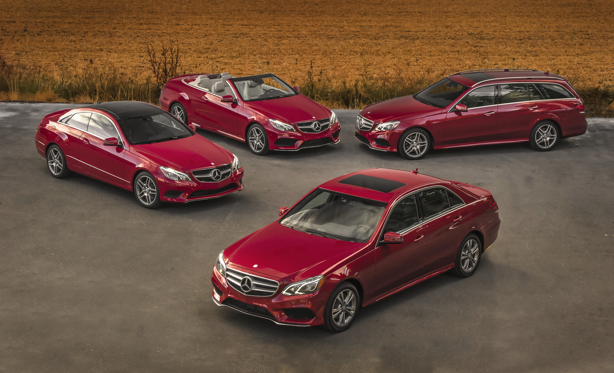 2014 Mercedes-Benz E-Class Models