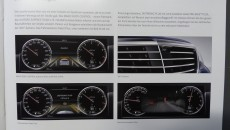 2014 Meredes-Benz S-Class Brochure interior choices