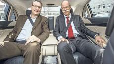 2014 Mercedes-Benz S-Class Back Seat
