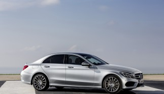 Mercedes-Benz C-Class at the 2014 New York Auto Show
