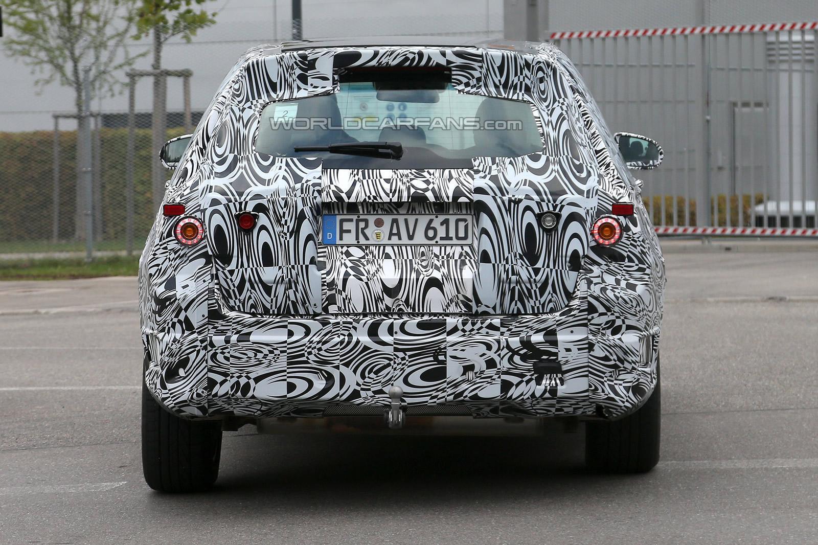 2015 Mercedes-Benz GLK Spied Testing