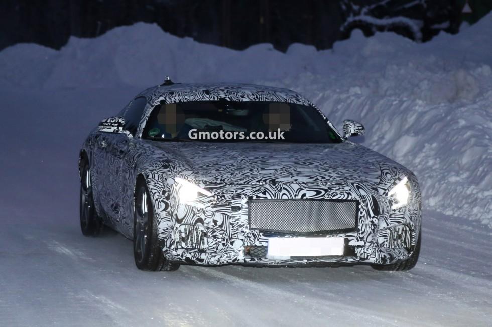 2015 Mercedes SLC AMG front grille