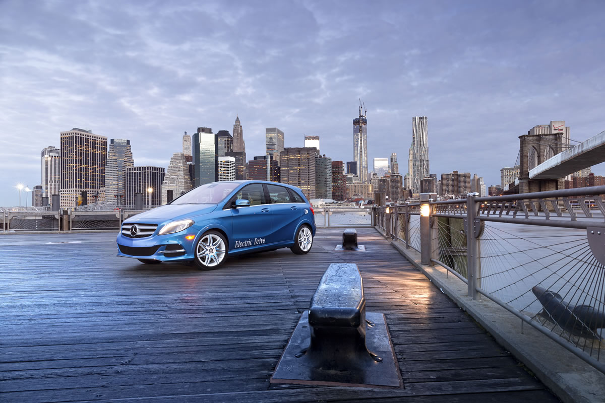 2014 Mercedes-Benz B-Class Electric Drive in NYC