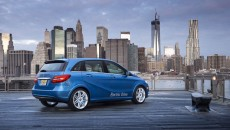 2014 Mercedes-Benz B-Class Electric Drive in New York City