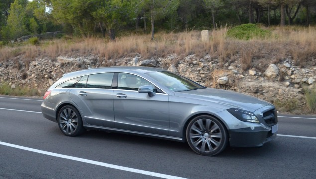 2015 Mercedes CLS Shooting Brake Spy Photos