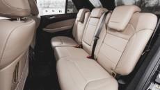 2015 Mercedes-Benz ML250 BlueTec 4MATIC Back Seat