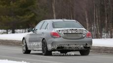 2015 Mercedes C63 AMG rear