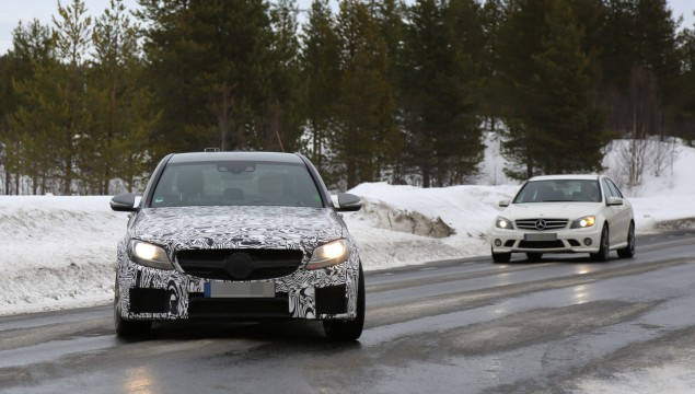2015 Mercedes C63 AMG and 2014 C63 AMG