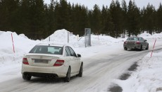 C63 AMG Spy Photos