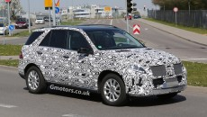 2015-Mercedes-M-Class-spy photos-4