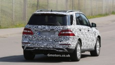 2015-Mercedes-M-Class-spy photos-5