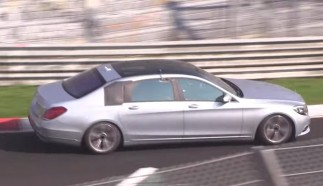 Nürburgring Testing for the Maybach Replacing S-Class – Video