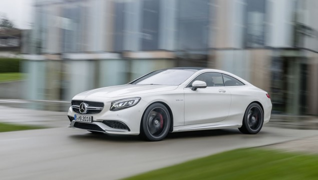 Mercedes-Benz S63 AMG Coupe World Premiere