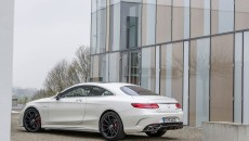 2015 Mercedes S63 AMG Coupe rear