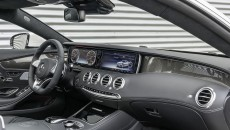 2015 Mercedes S63 AMG Coupe interior