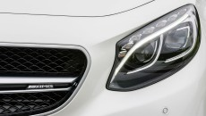 2015 Mercedes S63 AMG Coupe headlight