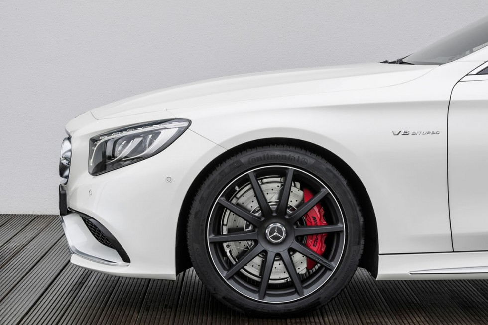 2015 Mercedes S63 AMG Coupe wheel