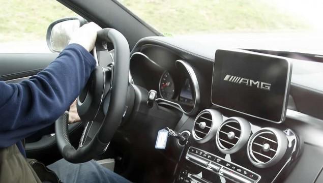 Mercedes C63 AMG Interior