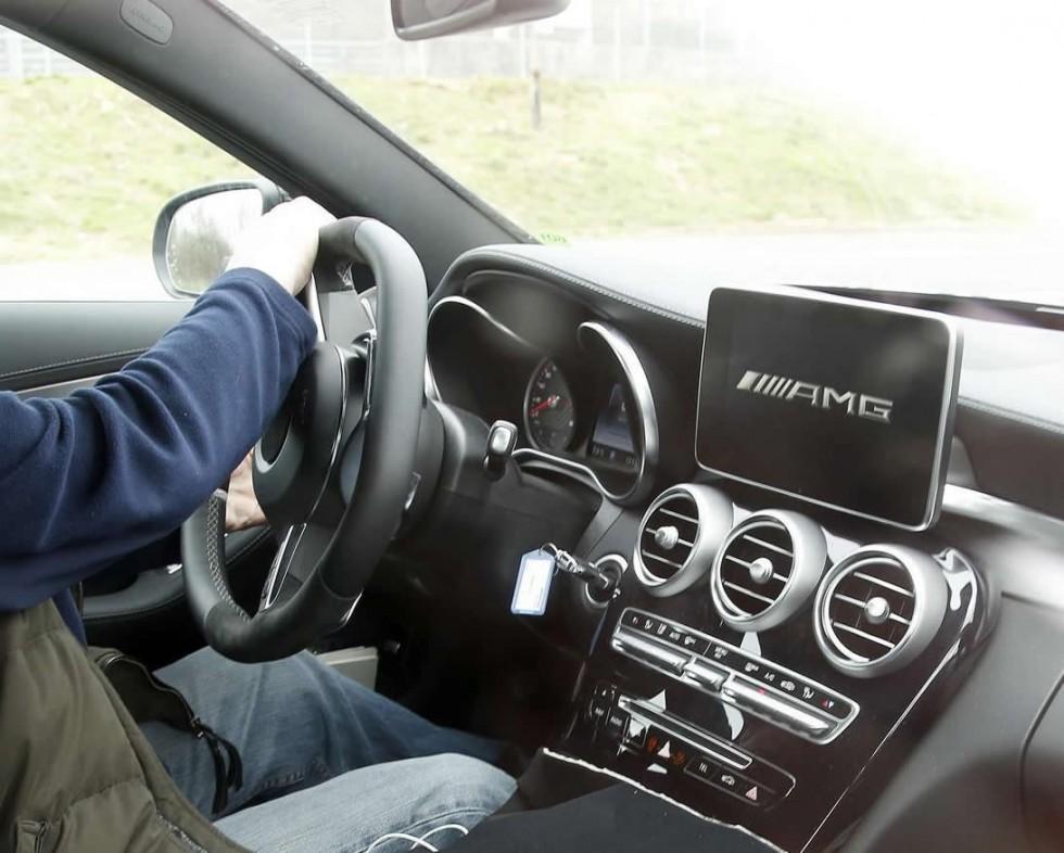 2015 Mercedes C63 AMG Interior