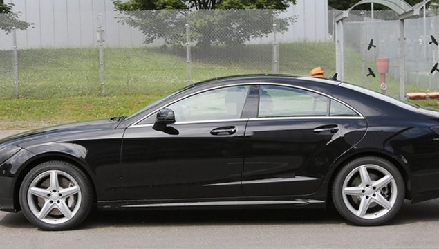 2015 Mercedes CLS Spied As Never Before