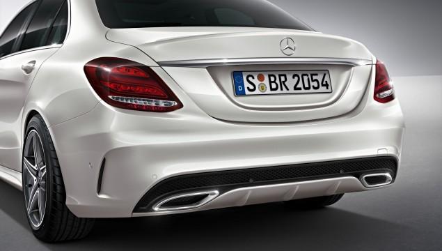 2014 Mercedes-Benz C-Class AMG Line bumper