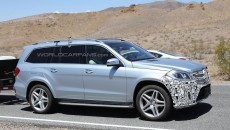 2015 Mercedes-Benz GL-Class Spy Photo