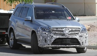 Updated Mercedes-Benz GL-Class Spied in Death Valley