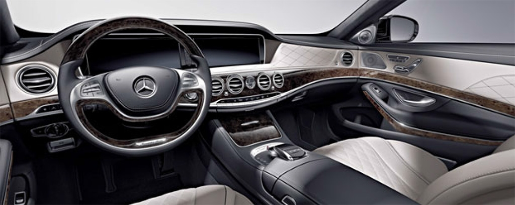 2015 Mercedes-Benz S600 Interior
