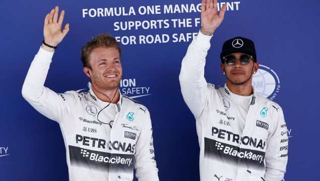 Mercedes AMG Dominates Spanish Grand Prix