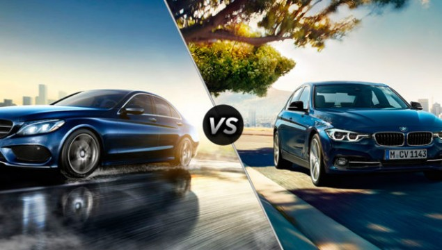 Mercedes Benz C-Class vs 2016 BMW 3-Series
