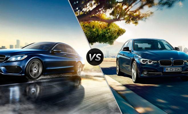 2016-Mercedes-Benz-C-Class-vs-2016-BMW-3Series-A-660×400