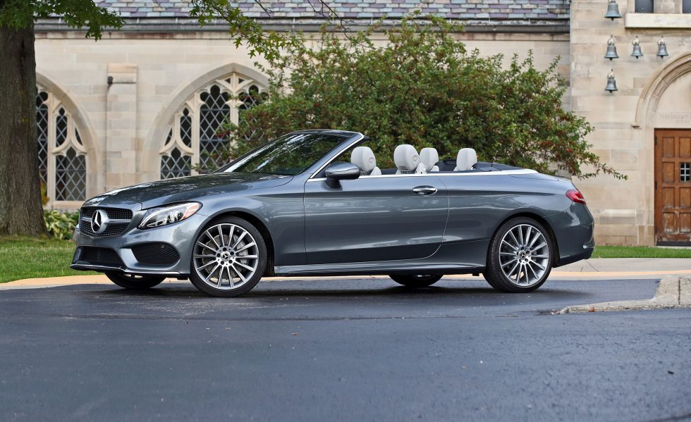 2018 Mercedes-Benz C-class Coupe and Cabriolet