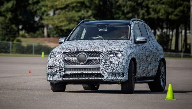 2020 Mercedes-Benz GLE450 Prototype