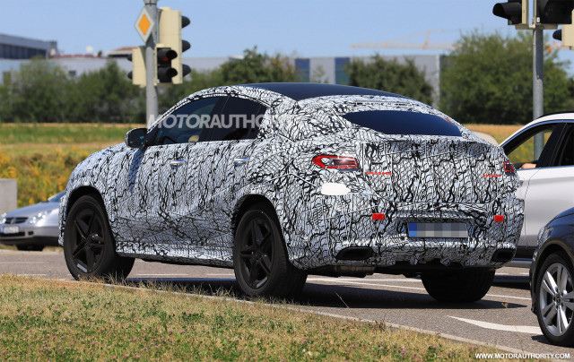 2020 Mercedes-Benz GLE Coupe Spy Photos